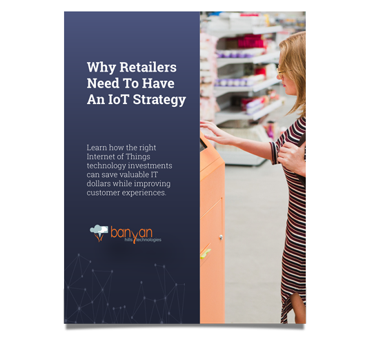 Cover of IoT Retail Strategy White Paper